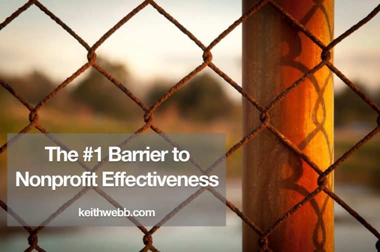 The #1 Barrier to Nonprofit Effectiveness