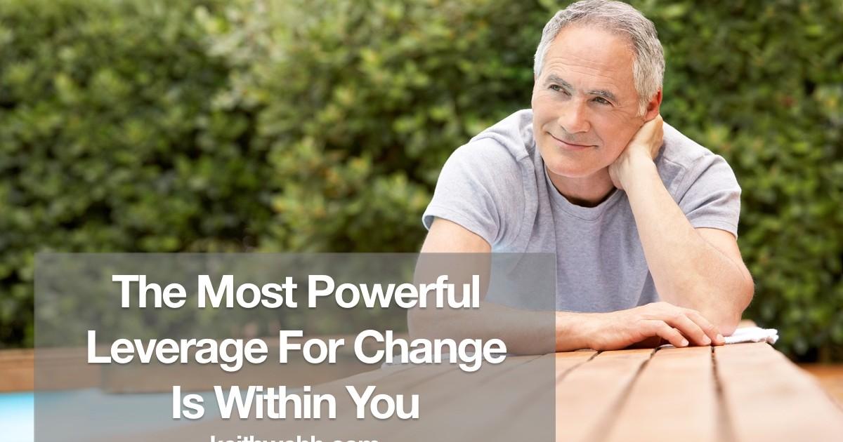 Change leverage